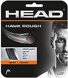 HEAD Unisex– Erwachsene Hawk Rough Tennis-Saite, Anthracite, 16