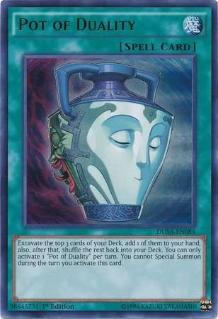 NM Pot of Duality CT08-EN008 Limited Super Yugioh