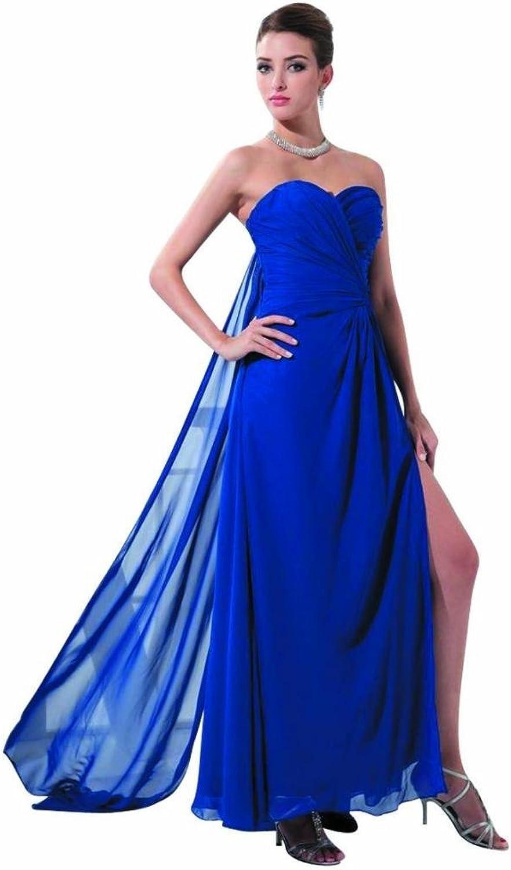 Dearta Women's Sheath Sweetheart Sleeveless AnkleLength Prom Dresses