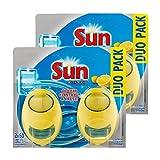 Sun Désodorisant Pour Lave-Vaisselle Expert Citron Duo Pack (Lot de 2)