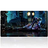 Extended Gaming Mouse Pad Custom Design Computer Gaming Mouse Mat with Smooth Surface XXL Large Size Desk Pad with Non-Slip Rubber Base Ideal for Keyboard, PC and Laptop (90x40 sexyhipY18)