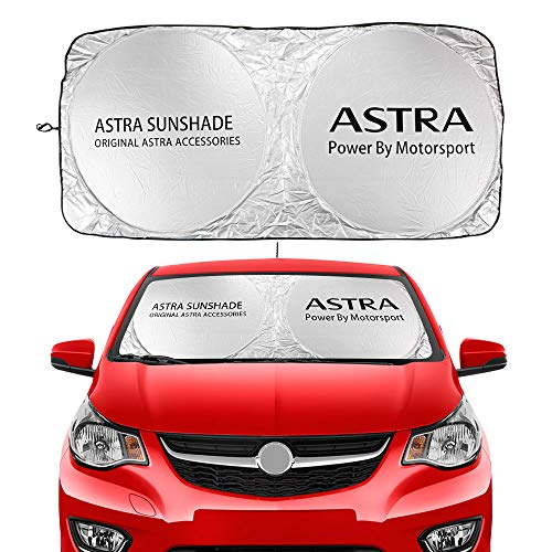 Parabrisas de coche, protector solar, parasol, protector solar, bloqueo, compatible con Opel Astra J H G K, accesorios de automoción plegables
