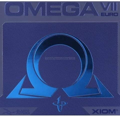 Xiom Omega VII quality assurance 7 Euro - Tennis Offensive Table Ma Luxury Black Rubber