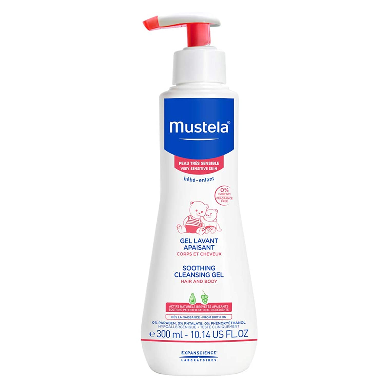 意気込みなぜなら救出Mustela - Soothing Cleansing Gel (10.14 oz.)