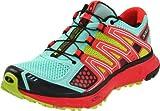 Salomon Women's XR Mission Running Shoe,Celedon/Papaya/Pop Green,8 M US
