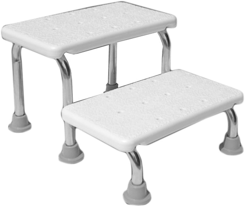 FJXLZ? Shower chair, Non-slip Does not rust Old man Bath chair Bathroom Stainless steel Shower chair Detachable, lightweight