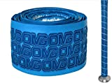 Oh My Grips OMG Premium Cushioned Hand Grip Wrap, Great for All Bats and Racquets; Baseball, Softball, Tennis, Badminton, Cricket, Even Ping-Pong Paddles! (Light Blue)