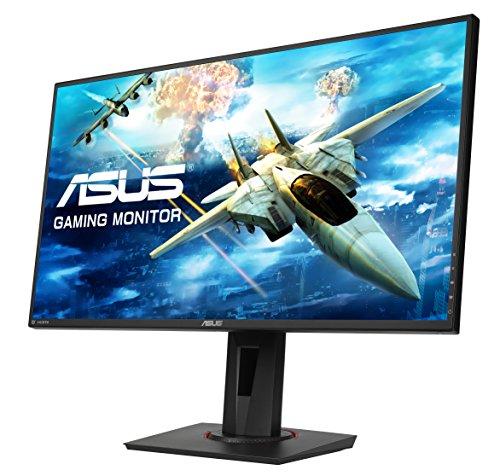 ASUS VG278QR 68,6 cm (27 Zoll) Gaming Monitor (Full HD, DVI, HDMI, DisplayPort, 0,5ms Reaktionszeit, 165Hz) schwarz