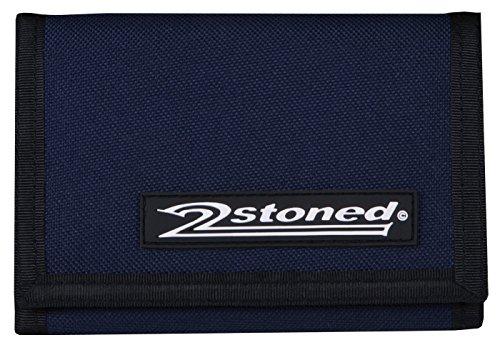 Original 2stoned Geldbörse Wallet mit Label Speed in Navy Blau