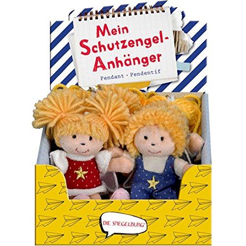 Spiegelburg 11704 Mein Schutzengel-Anhänger Bunte Geschenke, sortiert-Preis für 1 Stück
