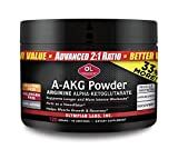 Olympian Labs A-AKG Powder   30 Servings   Advanced 2:1 Ratio, Exercise Endurance Intensity, Muscle Growth Recovery and Vasodilation