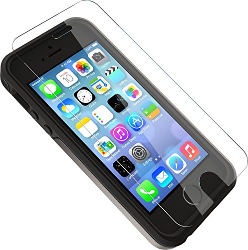 OtterBox ALPHA GLASS SERIES Screen Protector for iPhone SE (1st gen - 2016) and iPhone 5/5s - Retail Packaging - CLEAR