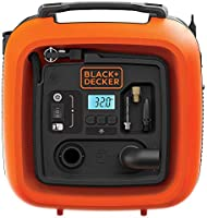 Black+Decker 12V 160 PSI Portable Electric Air Inflator Compressor for Bike, Cars, Inflatables and Sports Balls,...