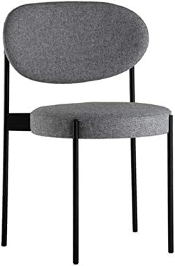 Northern European Style Light Luxury Dining Chair, Makeup Chair Post, Modern Simple Restaurant Iron Stool, for Home & Com