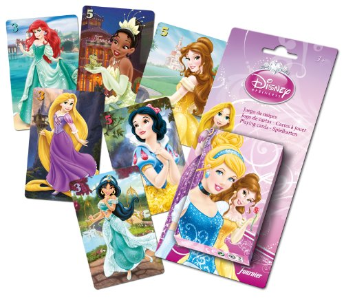 Princesas Disney - Baraja infantil con 40 cartas (Naipes Heraclio Fournier F43644) , color/modelo surtido