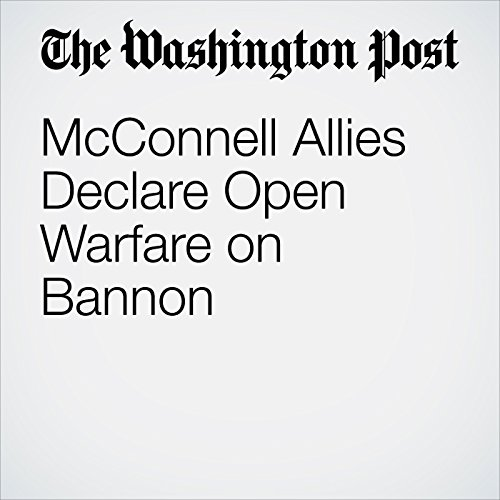 McConnell Allies Declare Open Warfare on Bannon copertina
