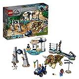 LEGO Jurassic World - Caos del Triceratops Juguete de construcción de...