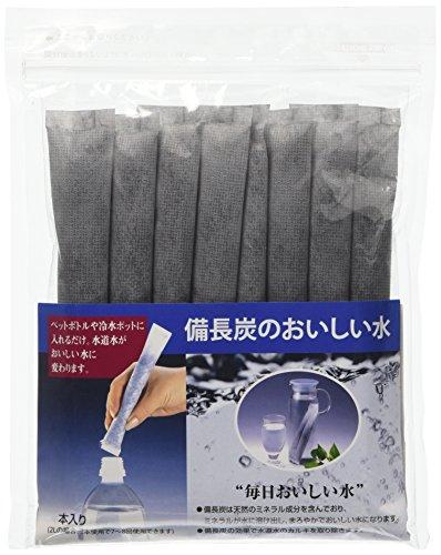 8 echte bio-binchotan stokjes uit Japan, onder beschermende omslag, actieve kool van bamboe, reinigt, mineraliseert het water van de robinets, karaf, drinkfles, tank voor koffiezetapparaat
