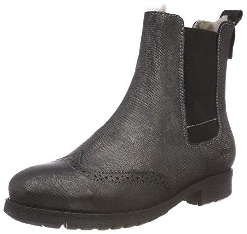 Bisgaard Mädchen 51003218 Chelsea Boots, Schwarz (226 Black Lizzard), 32 EU