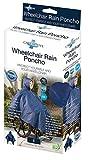CareActive Poncho en fauteuil roulant Bleu marine bleu marine Universel