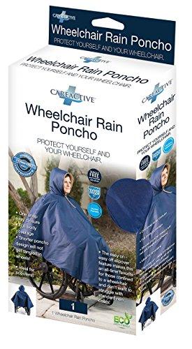 CareActive Wheelchair Rain Poncho,