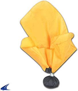 CHAMPRO Weighted Referee Penalty Flag REF Officials Football Gold with Black END