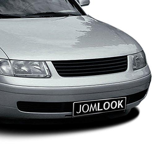 JOM Car Parts & Car Hifi GmbH 3B0853653OE Kühlergrill ohne Emblem, schwarz