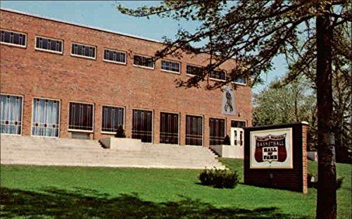 The Basketball Hall of Fame Springfield, Massachusetts Original Vintage Postcard
