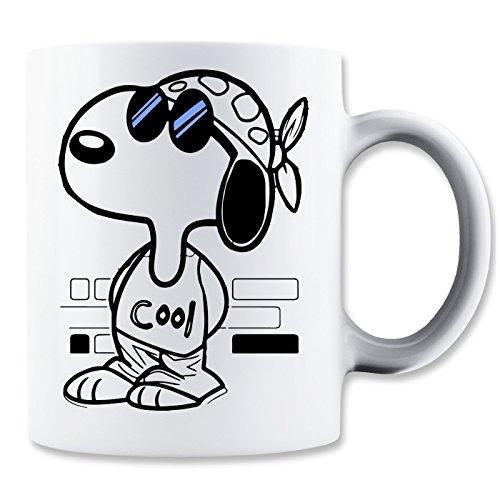 Snoopy Joe Cool Blue Sunglasses Klassische Teetasse Kaffeetasse
