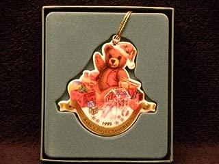 Lenox Ornament 1998 Baby'S First Christmas Teddy Bear
