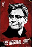 Jürgen Klopp Poster FC Liverpool The Normal One (61cm x