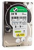 Mediamax 3.5' (8,9 cm) interne Festplatte 2TB HDD SATA III, 6.0 Gb/s Cache 64MB, RPM: 7200 (U/min), 2000GB, WL2000GSA6472G, SATA Festplatte Hard Drive 2TB Festplatte, Backup für Desktop PC Computer