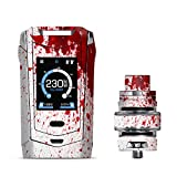 IT'S A SKIN Decal Vinyl Wrap for Smok Species 230W TFV8 Baby V2 Vape Sticker Sleeve Cover/Blood Splatter Dexter