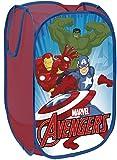 Contenedor de almacenamiento para dormitorio de niños plegable de Marvel Avengers, para niño, cesta para la ropa sucia