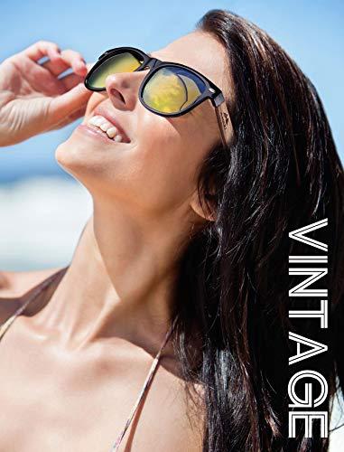GREENTREEN Occhiali da Sole Polarizzate per Uomo e...