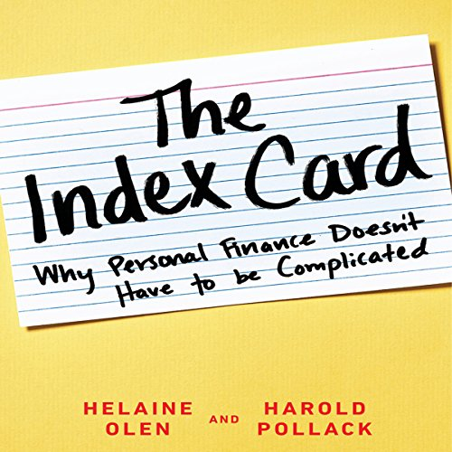 The Index Card audiobook cover art