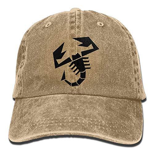 Hoswee Baseballmütze Hüte Kappe Scorpion Unisex Denim Baseball Cap Adjustable Snapback Hats