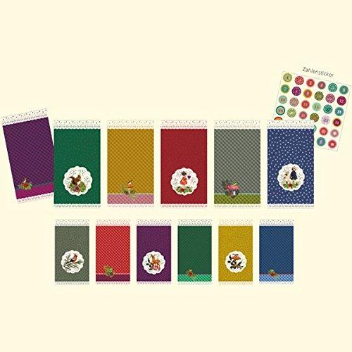 24 Geschenktüten: Für kleine Weihnachtsüberraschungen - ideal für einen Adventskalender