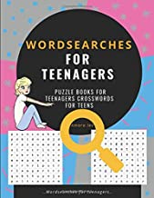 wordsearches for teenagers, puzzle books for teenagers crosswords for teens: Word Search Puzzle Books, Improve Spelling, Vocabulary and Memory Children's activity books and crosswords for teens
