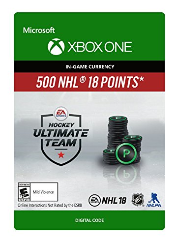 NHL 18 Ultimate Team NHL Points 500 - Xbox One [Digital Code]