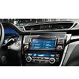 LFOTPP Nissan Qashqai J11 7 Zoll Navigation Schutzfolie - 9H Kratzfest Anti-Fingerprint Panzerglas Displayschutzfolie GPS Navi Folie