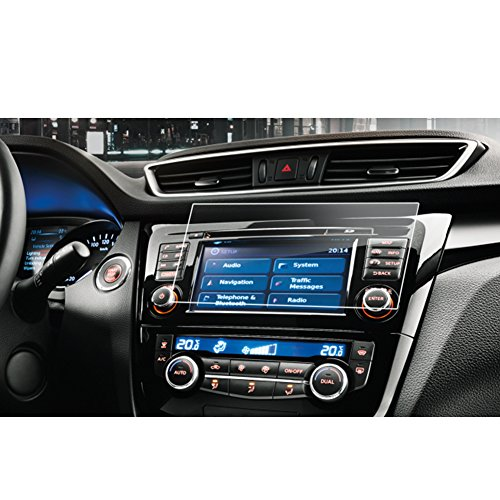 LFOTPP Nissan Qashqai J11 7 Zoll Navigation Schutzfolie - 9H Kratzfest Anti-Fingerprint Panzerglas Displayschutzfolie GPS Navi Folie