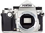 "Foto Pentax KP Fotocamera Digitale, Sensore CMOS APSC da 24 Mp, Video Full-HD, Monitor LCD da 3"", Argento"