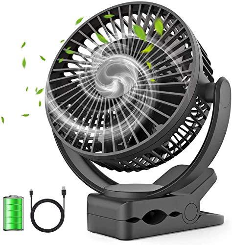 Portable Fan 5000mAh Rechargeable USB Desk Fan