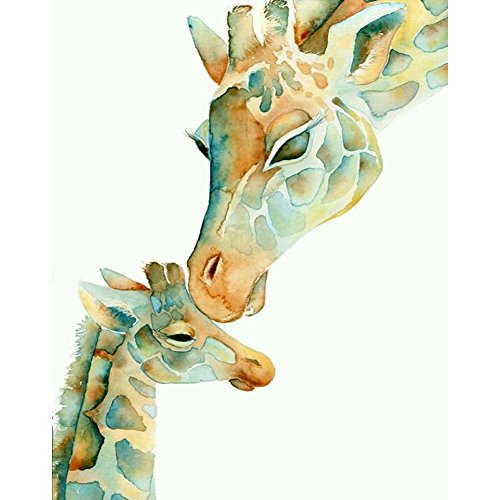 RoseSummer Giraffe DIY Diamond 5D Embroidery Paintings Cross Stitch Kits Home Decoration zhuanshihua Wall Decor
