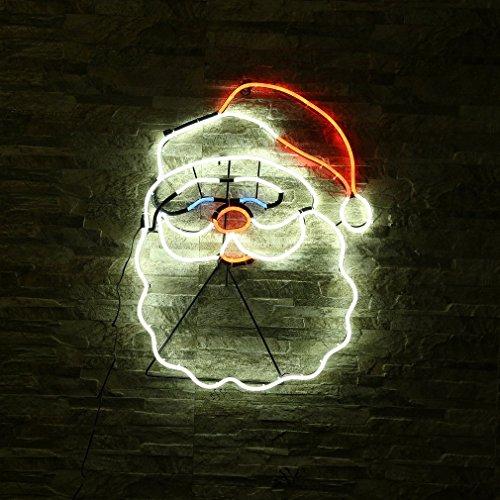 YKS–Babbo Natale Neon LED a parete 12V 8W luce decorazione di famiglia/caffè/Festa Impermeabile
