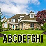 VictoryStore Yard Letters: Cut-Out Alphabet Yard Decoration, Bebas 18 inch High, 26pcs Includes Stakes (Black 12529)