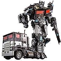 変換ロボットキットTOYS トランスフォーマーオプティマスプライムシェバトロンサイバーバース冒険戦士オプティマスプライムトイアクションフィギュア、再現可能なアクション攻撃トランスフォーマーオプティマスプライムフィギュア 教育的おもちゃ (Color : H6001-4B)