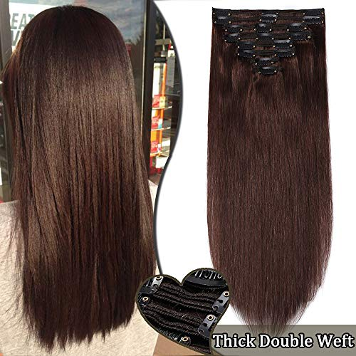 Extension a Clip Cheveux Naturel Maxi Volume -...