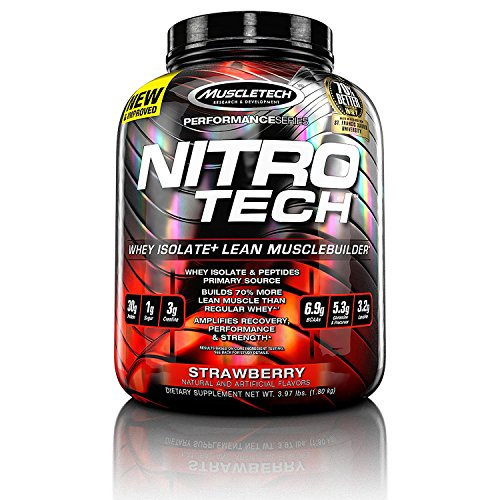 Muscletech Nitro-Tech Performance Series - Strawberry, 1er Pack (1 x 1.8 kg)